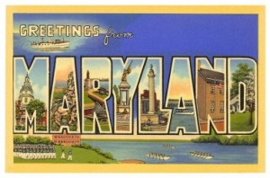Maryland-postcard